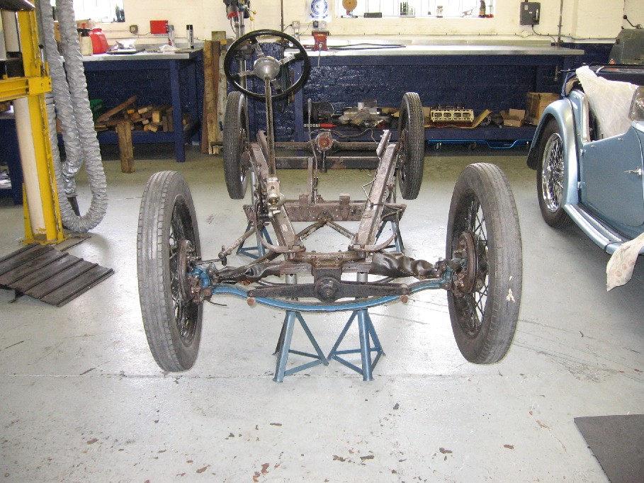 Nippy chassis prior to stripping