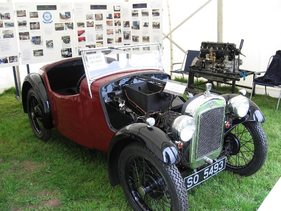 Nippy restoration almost complete, shown at Farming of Yesteryear, Scone