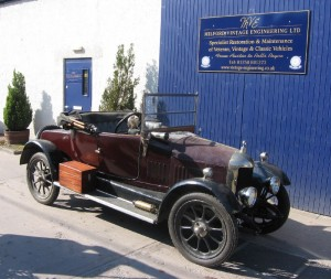 1922 Morris Oxford This is our own wee Bullnose Morris