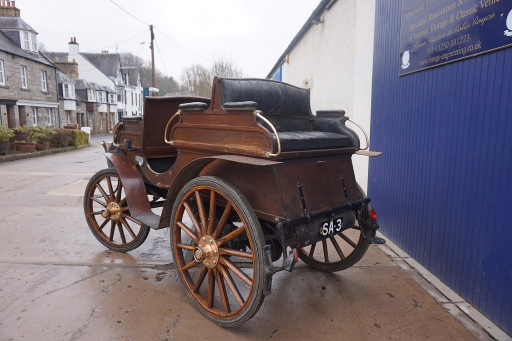Rear view - the original six seater