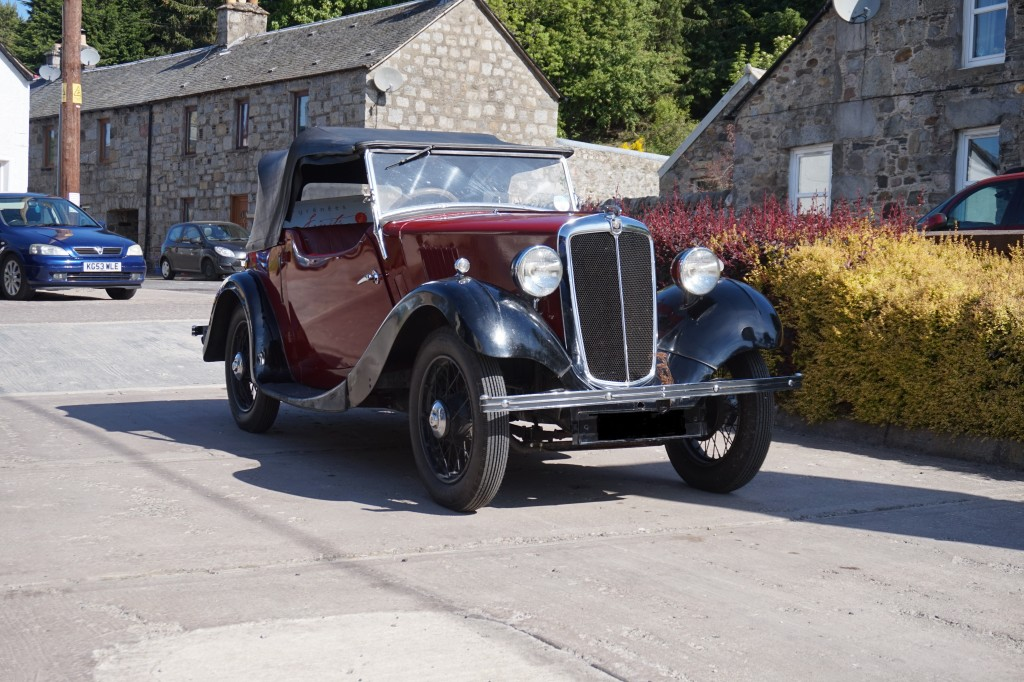 1937 Morris 8 ready to go home