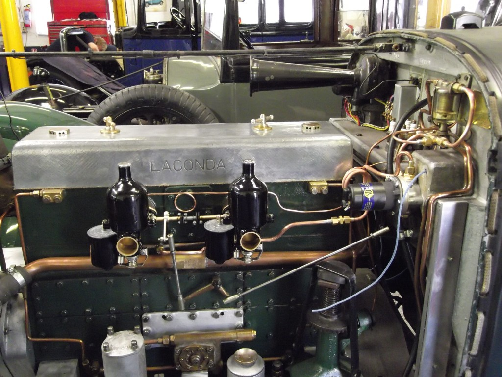 Twin carbs in place and pipework all run
