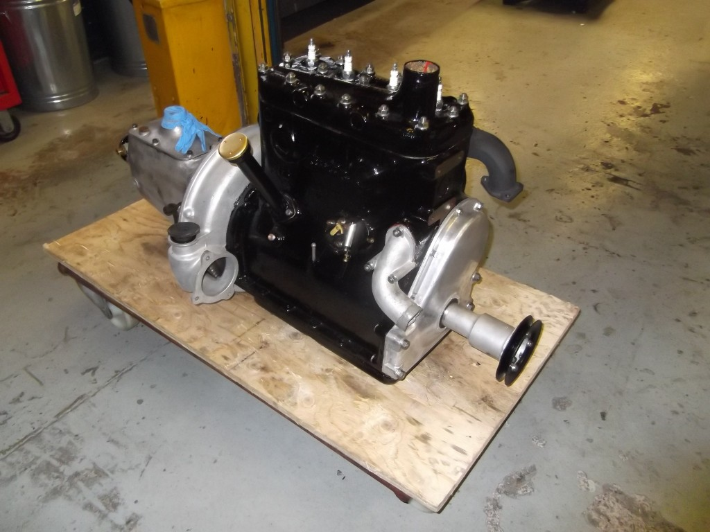 Engine ready for refitting