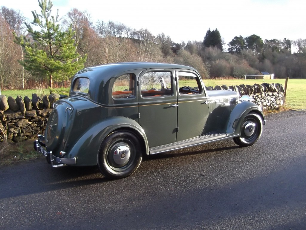1939 Rover 16 finished