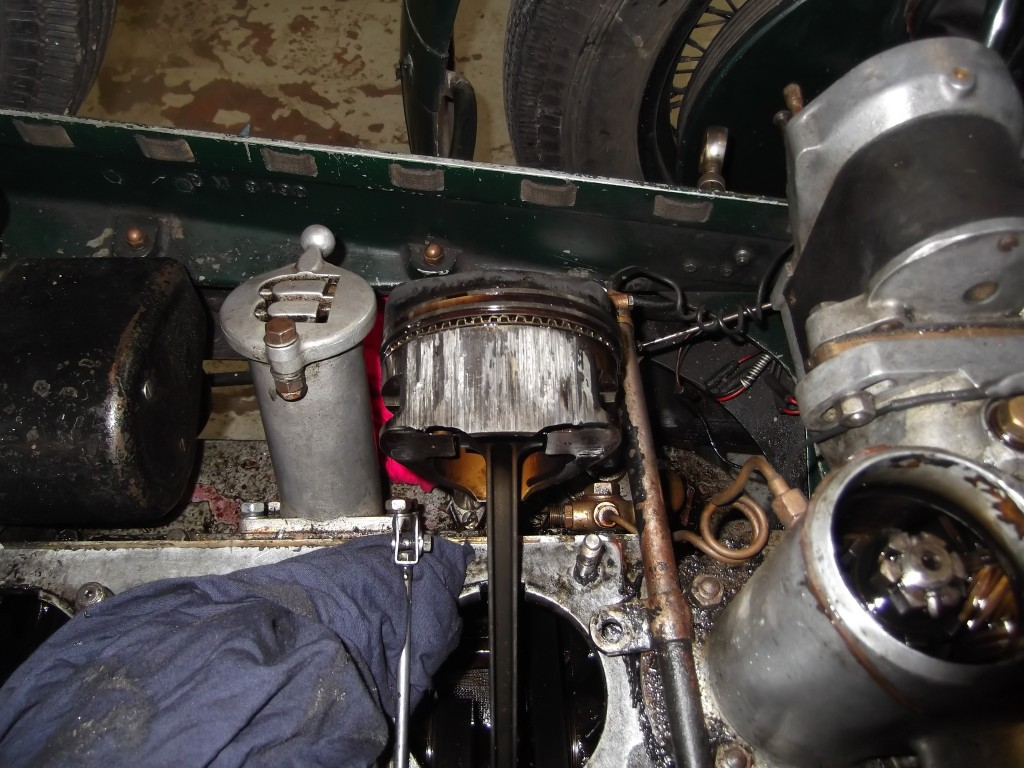 No 1 piston - subject to severe over heating