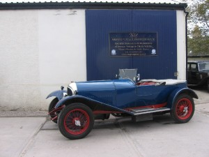 1926 3- 41/2 WO Bentley