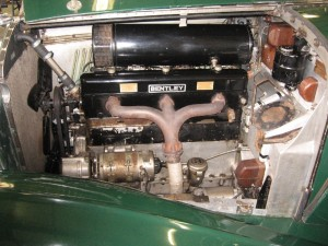 Engine bay following completion of rewire (all wires hidden away in conduits)