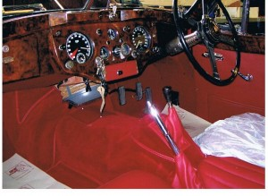 XK140 interior almost finished