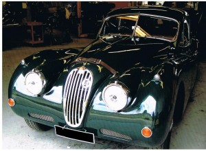 XK140 ready for delivery