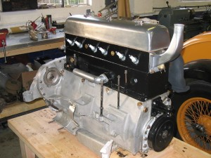 1934 Alvis Speed 20 SB - engine almost ready for refitting to car