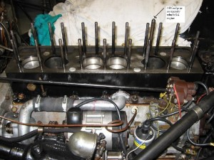 Alvis Speed 20 SA engine rebuild nearing completion
