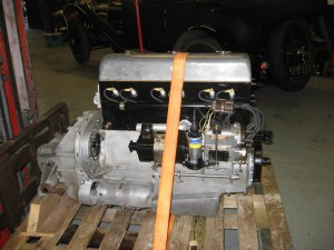 Alvis Speed 20 SA engine ready to return to the customer