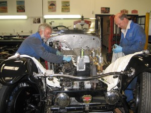 Alvis Speed 20 SA 500 mile service