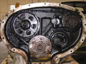 timing gear before