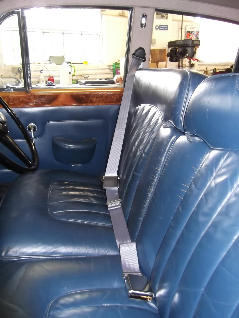 1963 Rolls-Royce Silver Cloud III having various jobs including fitting of front seat belts