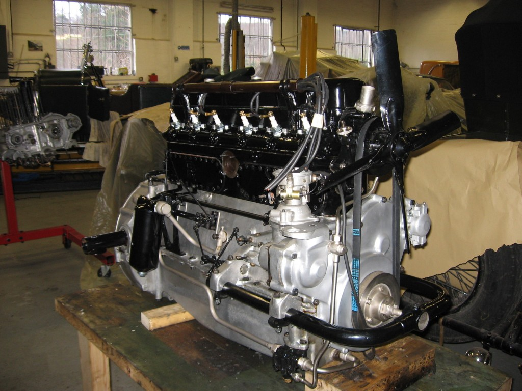 20hp engine finished