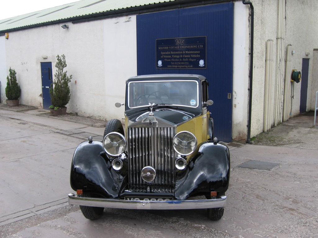 1936 Rolls-Royce 25/30, chassis number GXM 15