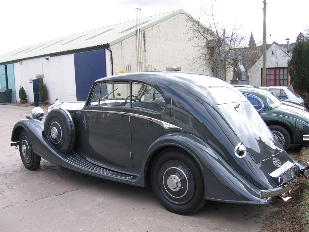 1935 Rolls-Royce 20/25 (rear view)