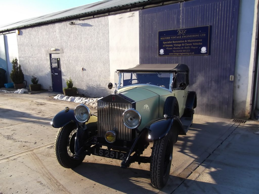 1930 Rolls-Royce 20/25, chassis number GGP8