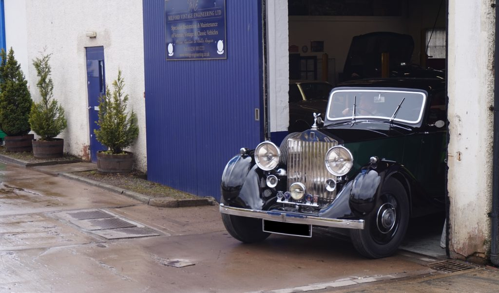 1938 Rolls-Royce 25/30, chassis number GHO 49