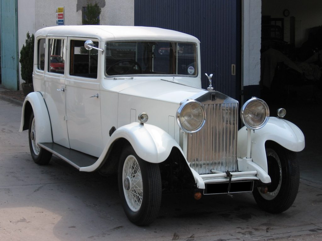 1933 Rolls-Royce 20/25, chassis number GLZ 62