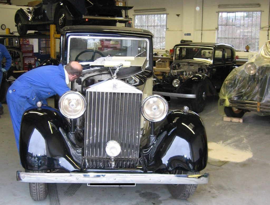 1935 Rolls-Royce 20/25, chassis number GPG 36