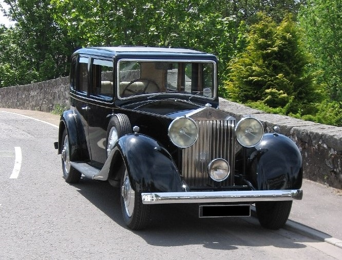 Rolls-Royce 20/25, chassis number GXB 24